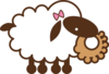 Sheep_withbow_2
